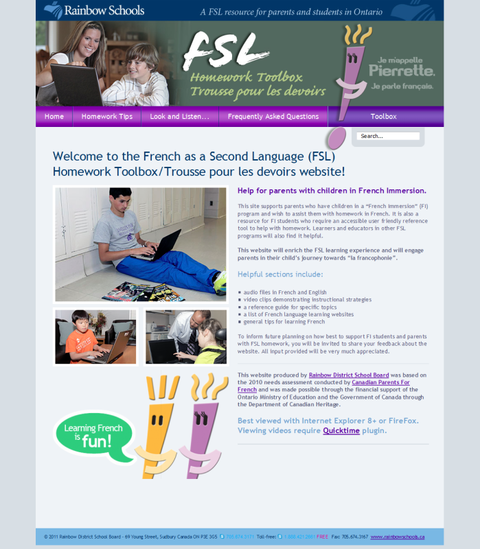 "Image of ""FSL Homework Toolbox (Rainbow DSB)"" document"