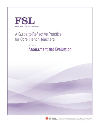 "Image of ""Assessment and Evaluation"" document"