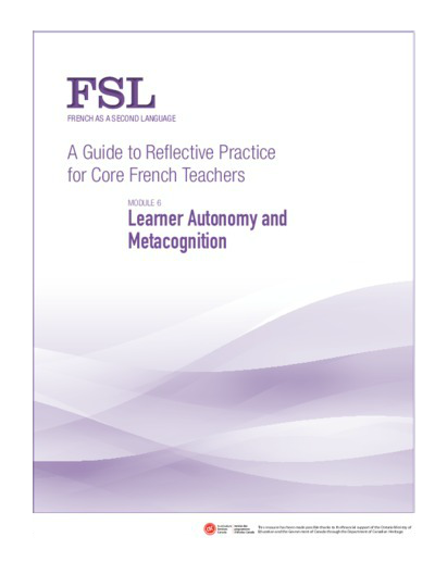 "Image of ""Learner Autonomy and Metacognition"" document"