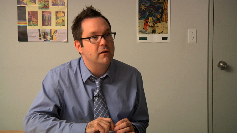 "Image of teacher from ""Example 1 – A1"" video"