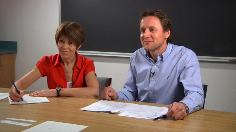 """Image d'enseignants prise de la vidéo """"Exemple 3 : A2"""""""