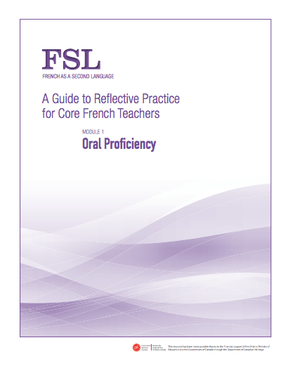 "Image of ""Oral Proficiency"" document"
