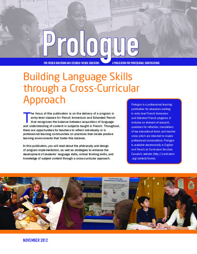 "Image of ""Building Language Skills through a Cross-Curricular Approach"" document"
