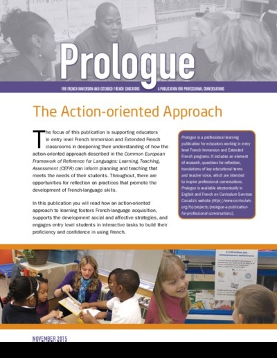 "Cover of the ""The Action-oriented Approach"" issue"