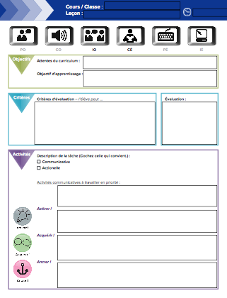 "Image of ""Editable Lesson Planning Template"""