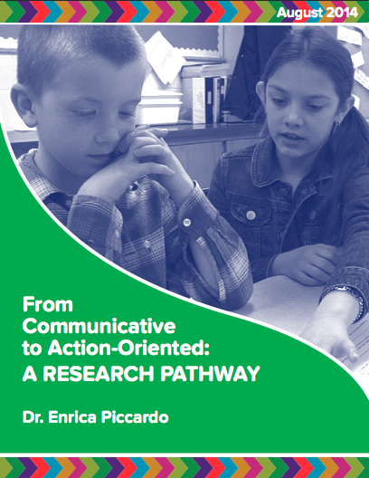 "Cover image of ""From Communicative to Action-Oriented: A Research Pathway"""