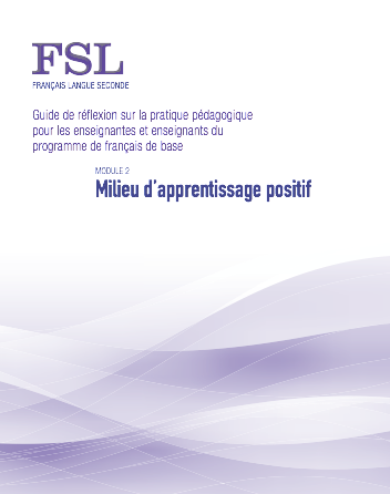 "Image du document ""Milieu d'apprentissage positif"""