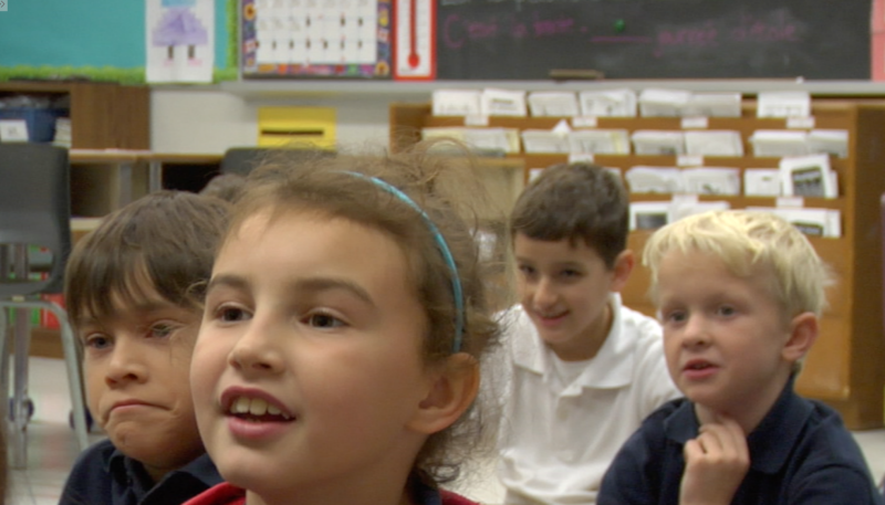 Image of students in classroom from e-learning module